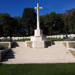 Mook War Cemetery cross