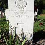 Grave of Lance Corporal  Edward William Ambler