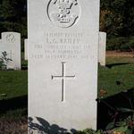 Grave of Private Leonard George Bailey