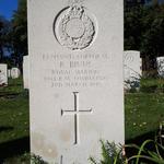 Grave of Corporal Ronald Binns