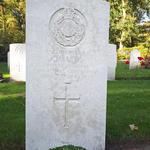 Grave of Marine Charles Adam Lyon