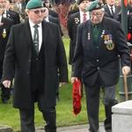 Dai Hope & Mac McNickle approach the Cenotaph
