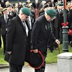 Mac McNickle & Dai Hope Lay the Wreath on behalf of The CVA.