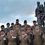 Commando Gunners and CVA National Standard Bearer.
