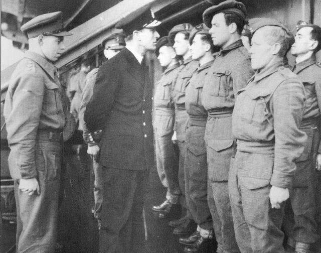 Lord Louis Mountbatten and Commandos