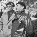 Lt Gen T.L. Hunton and Lt Col Charles Vaughan