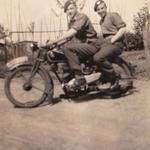 Bill 'Jock' Mills and Bob Yaxley 45RM Cdo 'E' tp Eutin Germany 1945