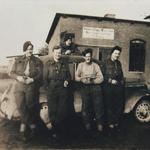 Four of 45RM Cdo. in Germany 1945