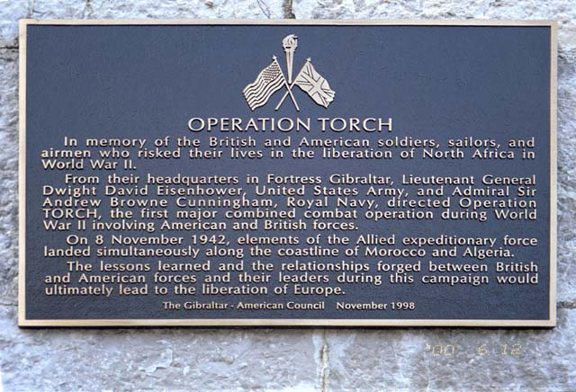 Operation Torch memorial