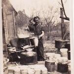 Bob Yaxley and Len Campbell 45 Cdo 'E' tp 1945