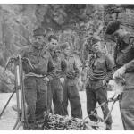 No.4 Commandos training at St Ives 1944