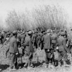 No.2 Commandos with German prisoners
