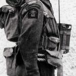 Commando wireless operator from No. 6 Polish Troop