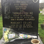 Grave of Mne Thomas Joseph Collins 42 Commando RM