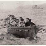 Men of No1 Commando undergoing boat training