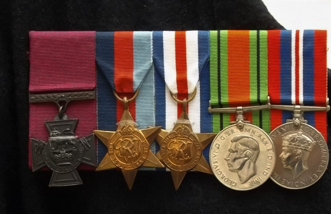 VC and medal group awarded to L/Cpl Henry Eric Harden, VC.