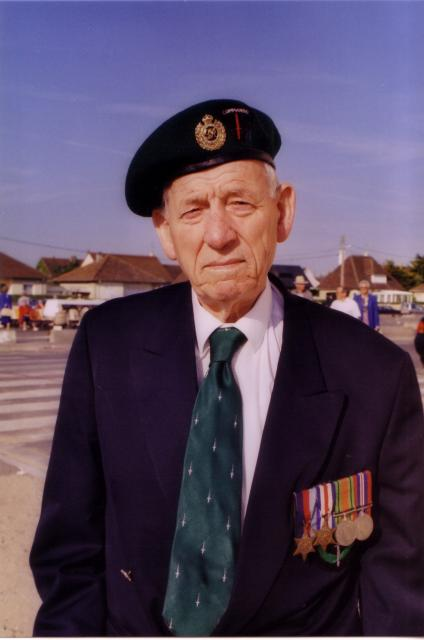 Veteran from No. 6 Commando 2 Troop
