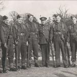 Mne. Cyril Laskey (3rd left) training at Exmouth 1940