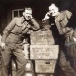 LCpl. John Rudland 2 Cdo on right