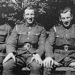 Cpl George Fraser. MM, and his brothers, Duncan & Willie