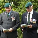 Phil Yabsley (left) and Lt Col Martin Lambert-Gorwyn, MBE RA