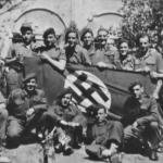Vic Pratt, Ben Fryer and others from 5 troop No.2 Cdo.