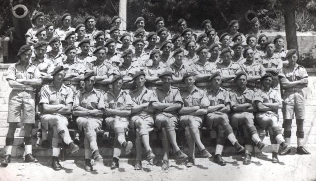 5 Troop No.2 Cdo.  Gibraltar 1943