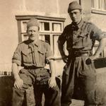 Sgt Geoff Broadman & pal