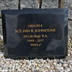 Sgt. Iain Johnstone 29 Commando Regt. RA