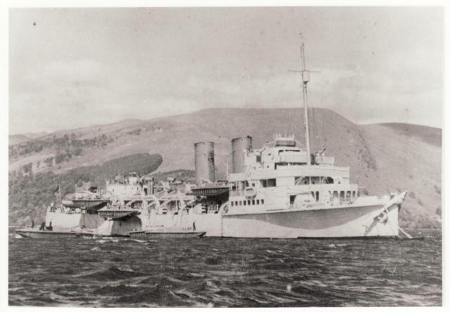 Raid Support Ship Prince Leopold.