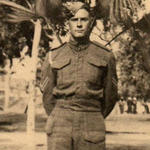 Cpl. Wells in the 7th RM Bn.