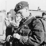 Unknown 45 Commando priming a grenade - Suez Crisis - Operation Musketeer 1956