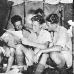 Tom Fraser, Bill Calderwood and Cocky Leggate