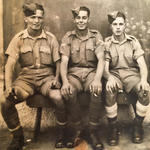 Pte. Albert Reginald Seekings, Cpl. Eric Musk, Pte Robert William Seekings