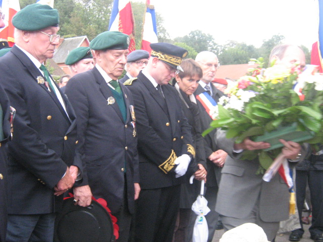 Veterans from No.3 Cdo at Berneval