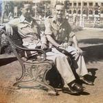 Cpl. Albert Read (left) 3 Bde. Signals and unknown