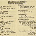 3rd Commando Brigade HQ April 1945