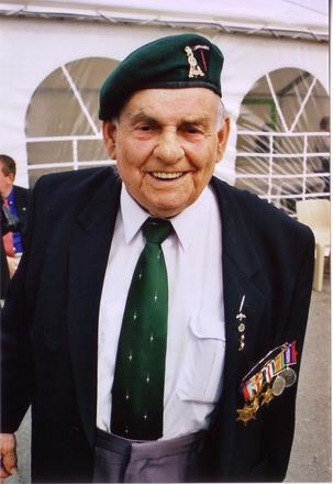 Veteran from No. 6 Commando  6th June 2009