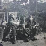 Eutin, 1945, Mne. Howard Pratt 45RM Cdo on right.