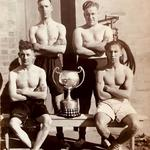 Mne. Kenneth Gleave  (front right) Lympstone