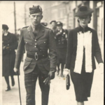 Lt. Jack Cameron Short with his wife Stella