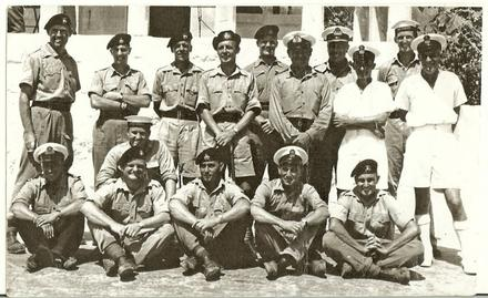 Sgt Norman Frederick (Ben) Lyon (front and 3rd from right), Malta 1957-59