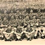 Officers and NCO's 44RM Commando ' X' troop, Ceylon