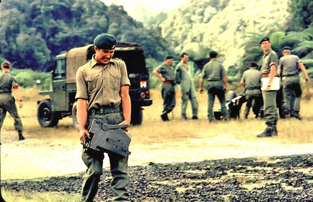 Bill Gillet 95 Cdo and others Malaya 1970