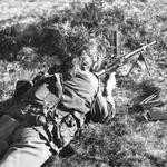 Live firing with 7.62mm Bren Dartmoor