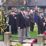 Fort William Remembrance Day Parade, 2009