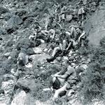 73 - On the Chute, 45 Commando RM Aden