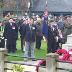 Stan 'Scotty' Scott lays the CVA Wreath at Fort William, 2009