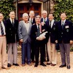 Commando Veterans - Normandy 7th June 1985.