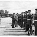 OFP official Inauguration Parade at Blackdown 1964